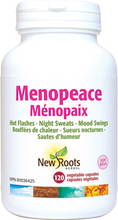New Roots Herbal Menopeace 120 Veg Capsules | 628747109482