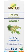 New Roots Herbal 100% Pure Essential Oil Organic Tea Tree  50mL | 628747221160