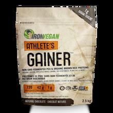 Iron Vegan Athlete's Gainer Natural Chocolate 2.5kg | 837229007899