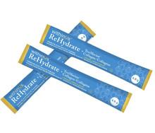 withinUs ReHydrate + TruMarine Collagen 20 Stick Packs - Lemon   628504021040