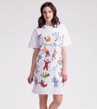 Little Blue House by Hatley Women's Sleepshirt One Size - Cat's Pajamas