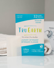 Tru Earth Eco-Strips Laundry Detergent Fresh Linen 32 Loads