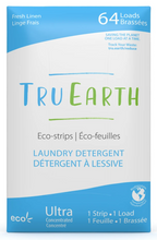 Tru Earth Eco-Strips Laundry Detergent Fresh Linen 64 Loads | 899962000056