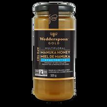 Wedderspoon Raw Manuka Honey KFactor 12 Gold 325g | 814422021488
