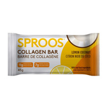 Sproos Collagen Bar Lemon Coconut 12 x 45g Bars