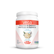 Vega Plant-Based Protein & Energy with MCT Oil Drink Mix Vanilla Bean Flavoured 510g | 838766106250
