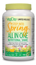 VegiDay Step Into Spring All in One Nutritional Shake 780g | 628235330442