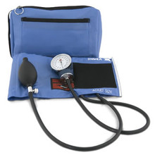 AMG Medical PhysioLogic Color Pro Sphygmomanometer - Royal Blue 106-358 | UPC 775757063584