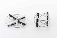 Beyond123 Playable Abraka Rings-Black/White |