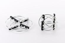 Beyond123 Playable Abraka Rings-Black/White |