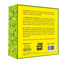 Hygge Games I Should Have Known That | Backside Image of Box