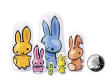 Matryoshka Madness Micro Matryoshka Bunny | 670705150104 | MAT-MICRO BUNNY