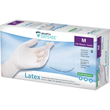 MedPro Defense Powder-Free Laxtex Medical Examination Gloves Medium