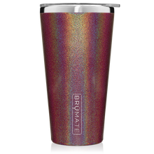 BrüMate Imperial Pint 20oz Tumbler - Glitter Merlot | 748613303230