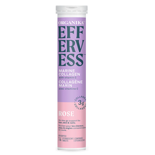 Organika Effervess Marine Collagen and Vitamin C Effervescent - Rose Single Pack (14 Tablets) | 620365029906