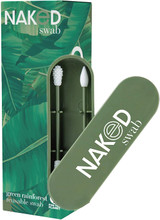 NakedSwab Reusable Swab - 2 Swabs, Green RainForest |