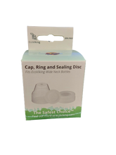 EcoViking Cap, Ring and Sealing Disc Set - Standard Neck | 7340151700422