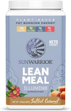 Sunwarrior Plant-Based Lean Meal Illumin8 Superfood Shake 720g - Salted Caramel | 814784027630