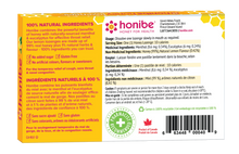 Honibe Honey Lozenges Soothes Cough, Sore Throat & Congestion - Lemon 10 Lozenges
