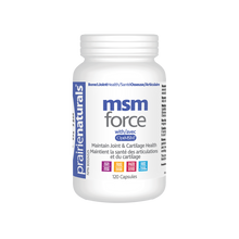 Prairie Naturals MSM Force with OptiMSM 120 Capsules | 067953006541