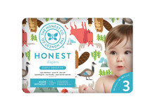 The Honest Company Honest Diapers - Into the Wild Size 3 (34 Count) | 816645028282