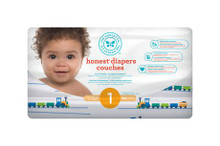 The Honest Company Honest Diapers - Trains Size 1 (44 Count) | 816645022761