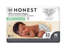 The Honest Company Honest Clean Conscious Diapers - Pandas Size 0   816645024147