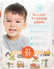 The Honest Company Honest Training Pants - Construction Zone Size 2T-3T (26 Count) | 817810029370