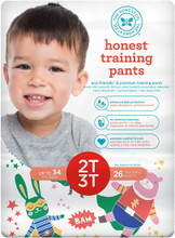 The Honest Company Honest Training Pants - Super Hero Size 2T-3T (26 Count) | 817810029493