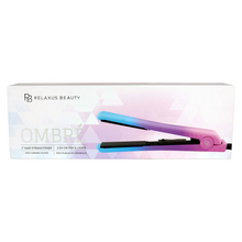 "Relaxus Ceramic Ombre 1"" Hair Straightener 