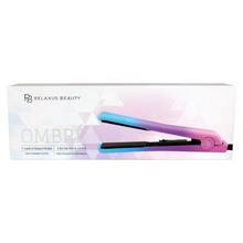 "Relaxus Beauty 100% Ceramic 1"" Hair Straighteners - Ombré | 544663 | 628949146636"