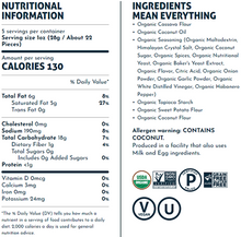 LesserEvil Organic Grain-Free Paleo Puffs - Fiery Hot 142g | Nutrition Information & Ingredients
