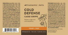 Harmonic Arts Cold Defense Cough + Cold| 137101647053, 137101617056, 137101637054, 137101677050