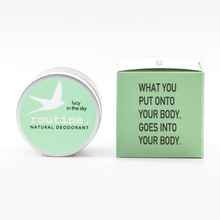 Routine Natural Deodorant - Lucy in the Sky 58g (Vegan, No Beeswax)