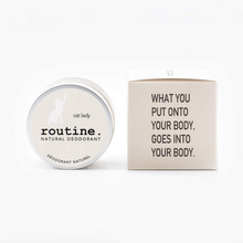 Routine Natural Deodorant - Cat Lady 58g (Vegan, No Beeswax)