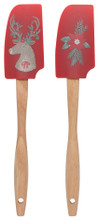 Now Designs Mini Spatulas Set of 2 - Dasher Deer | 064180294772