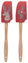 Now Designs Mini Spatulas Set of 2 - Dasher Deer | 064180294772