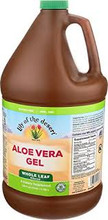 Lily of the Desert Aloe Vera Juice - Whole Leaf Filtered 134oz / 3.8L | 026395301287