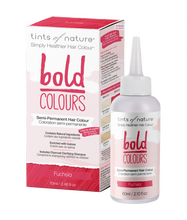 Tints of Nature Bold Colour - Semi-Permanent Hair Colour 70mL - Bold Fuchsia | 704326426314