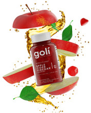 Goli Nutrition Apple Cider Vinegar Gummy - 60 Gummies | 627987249637