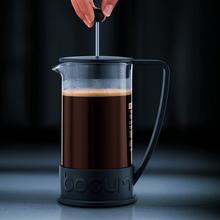 Bodum Brazil French Press Coffee Maker with Asymmetrical Handle - Black