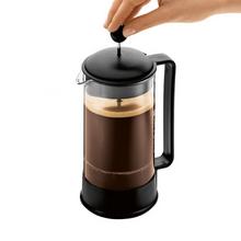 Bodum Brazil French Press Coffee Maker with Symmetrical Handle - Black