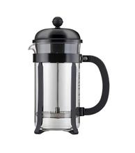 Bodum Chambord French Press Coffee Maker - Black 8-Cup, 1.0L, 34oz