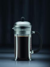 Bodum Chambord French Press Coffee Maker - Matte Chrome 8-Cup, 1.0L, 34oz
