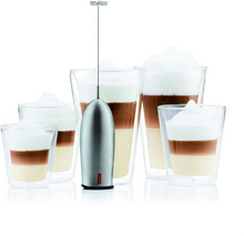 Bodum Schiuma Battery Operated Milk Frother - Stainless Steel