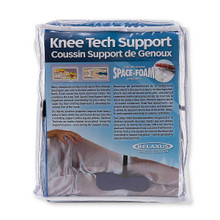 Relaxus Knee Tech Space Foam Support  | Product Bag/ info Image