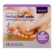 Relaxus Herbal Foot Pads 14 Patches + Adhesive Sheets - Lavender| UPC: 628949035633