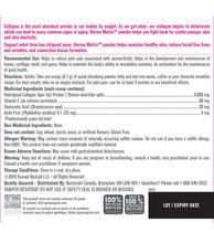 NeoCell Derma Matrix Collagen Skin Complex - Unflavoured 183g Powder | 016185400238