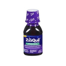 ZzzQuil Liquid Nighttime Sleep Aid - Berry - 177 ml | 056100076889