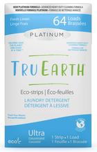 Tru Earth Platinum Eco-Strips Laundry Detergent - Fresh Linen 64 Loads | 899962000643